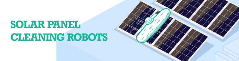 solar panel photovoltaic module cleaning robot