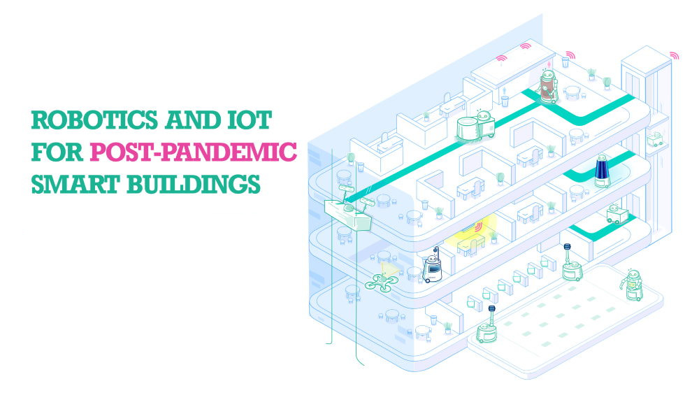 Report: Robotics and IoT for Post-Pandemic Smart Buildings