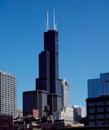 Willis Tower - Image by David Mark from Pixabay